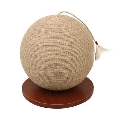 Rotating Globe Cat Scratch Post-Playing-Alfy & Co-Ball small-Alfy & Co