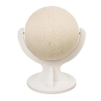 Rotating Globe Cat Scratch Post-Playing-Alfy & Co-Globe white stand-Alfy & Co