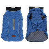 Warm dog jacket-Outdoor-Alfy & Co-Blue-XS-Alfy & Co
