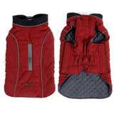 Warm dog jacket-Outdoor-Alfy & Co-Red-XS-Alfy & Co