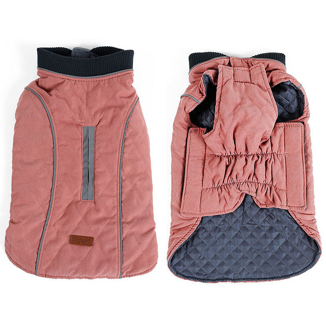 Warm dog jacket-Outdoor-Alfy & Co-Pink-XS-Alfy & Co