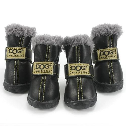 Warm winter dog boots-Outdoor-Alfy & Co-Black-S-Alfy & Co