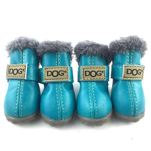 Warm winter dog boots-Outdoor-Alfy & Co-Dark Blue-S-Alfy & Co