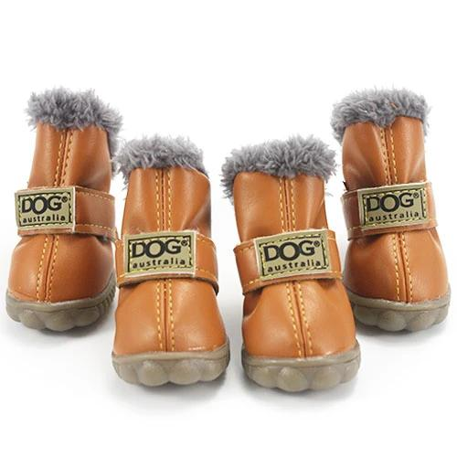 Warm winter dog boots-Outdoor-Alfy & Co-Brown-L-Alfy & Co