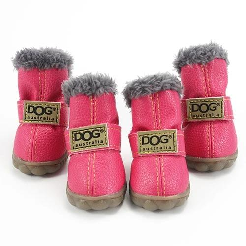 Warm winter dog boots-Outdoor-Alfy & Co-Pink-L-Alfy & Co