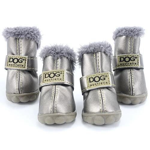 Warm winter dog boots-Outdoor-Alfy & Co-Silver-L-Alfy & Co