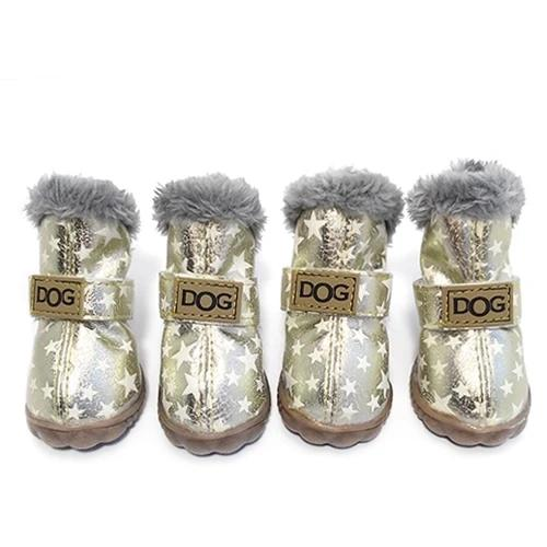 Warm winter dog boots-Outdoor-Alfy & Co-Stars-S-Alfy & Co