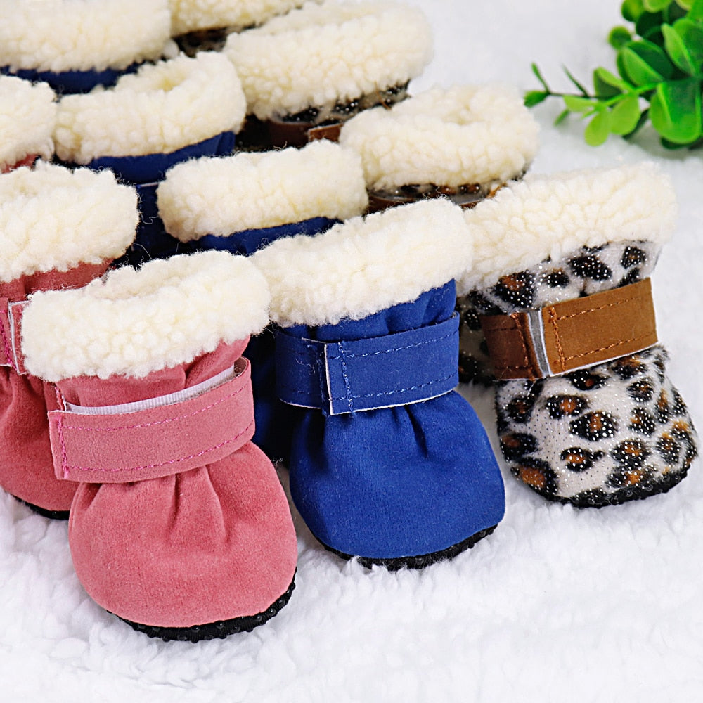 Stylish winter dog boots-Outdoor-Alfy & Co-Alfy & Co