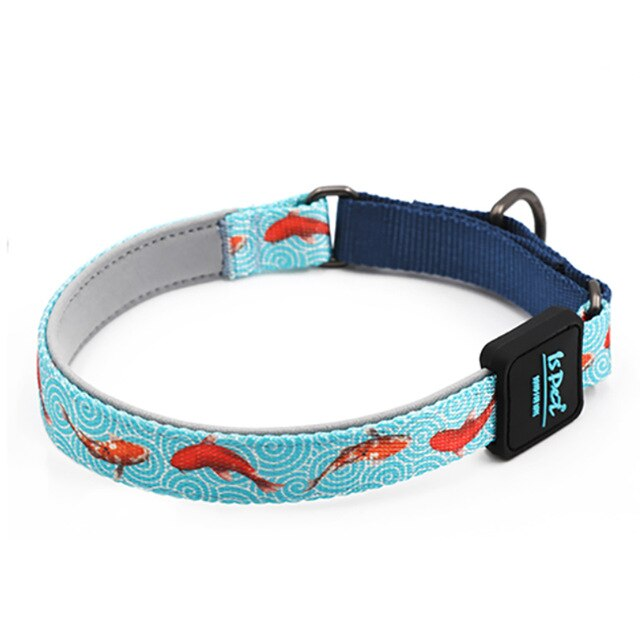 Modern collar with print-Outdoor-Alfy & Co-Fishes-L-Alfy & Co