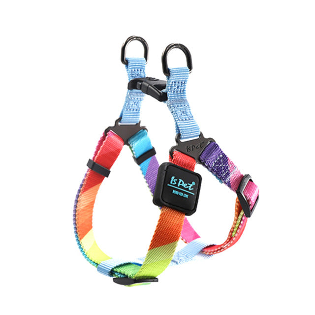 Colorful adjustable dog harness-Outdoor-Alfy & Co-Alfy & Co