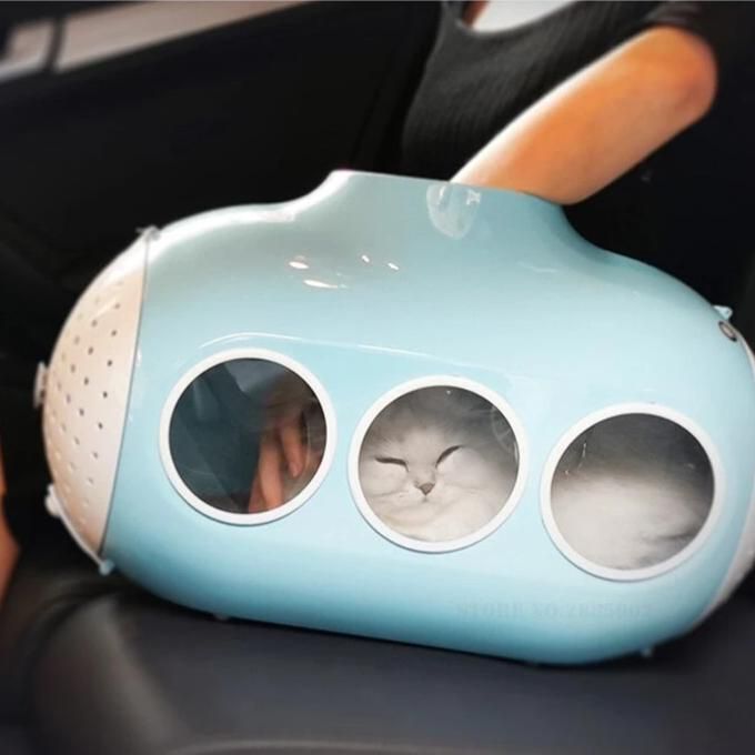 Submarine shaped cat carrier-Outdoor-Alfy & Co-Alfy & Co