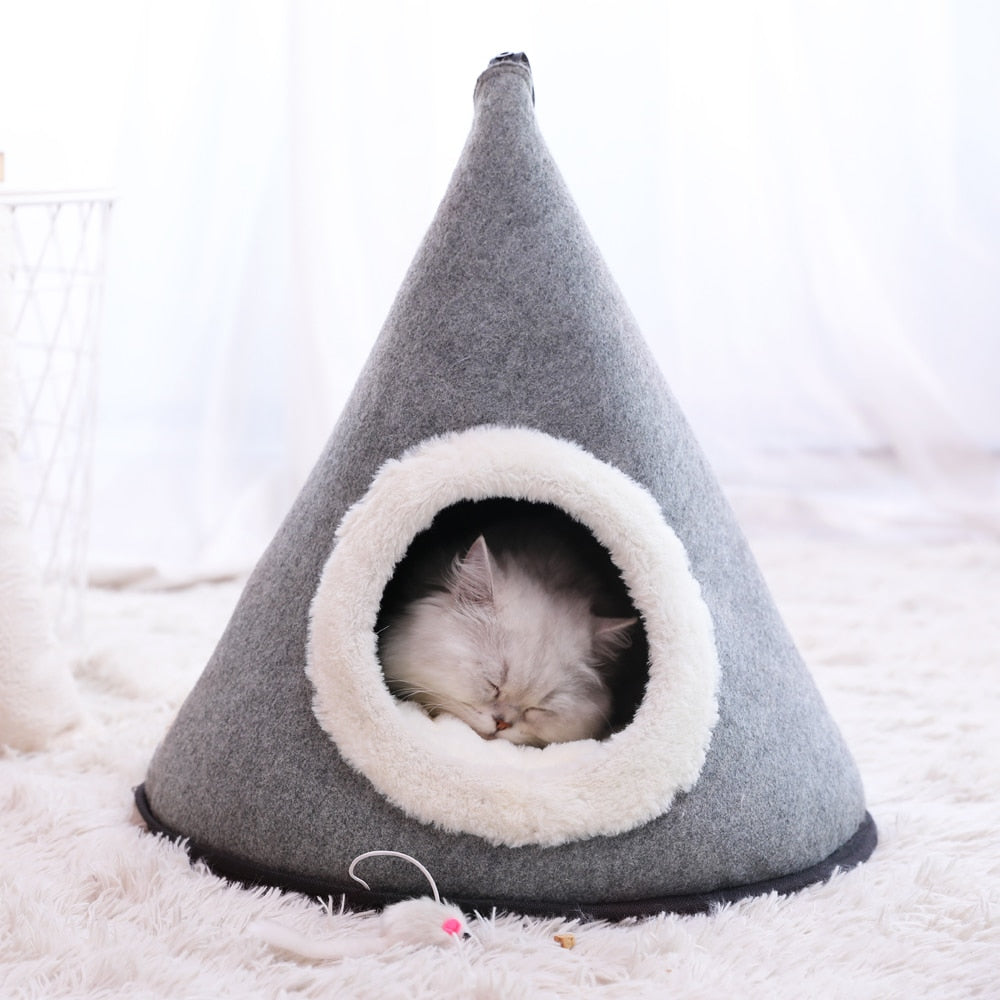 Cosy warm cat tent-Sleeping-Alfy & Co-Alfy & Co