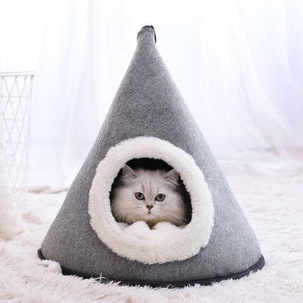 Cosy warm cat tent-Sleeping-Alfy & Co-S-Alfy & Co
