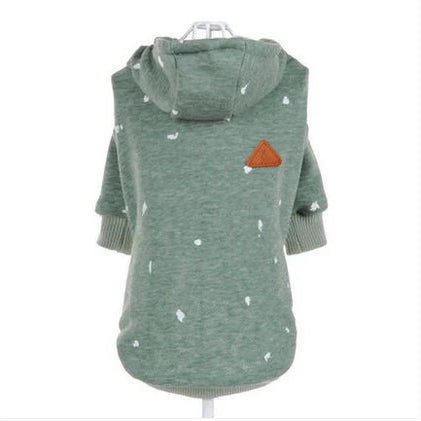 Cat or small dog hoodie-Beauty-Alfy & Co-Green-XS-Alfy & Co