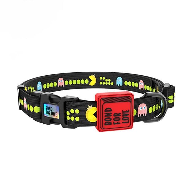 Bond For Love hondenhalsband-Outdoor-Alfy & Co-Pac-Man-S-Alfy & Co