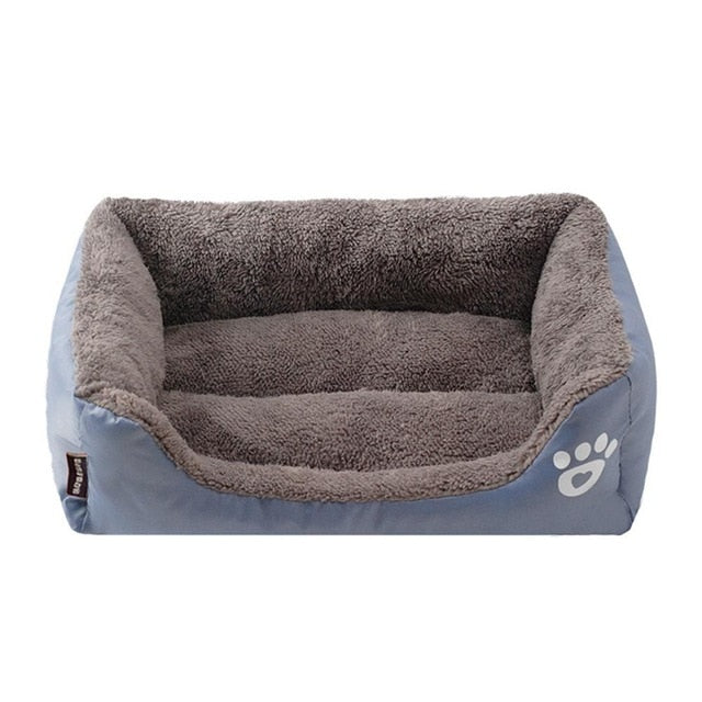 Cosy dog bed with memory-foam mattress-Sleeping-Alfy & Co-Grey-S-Alfy & Co