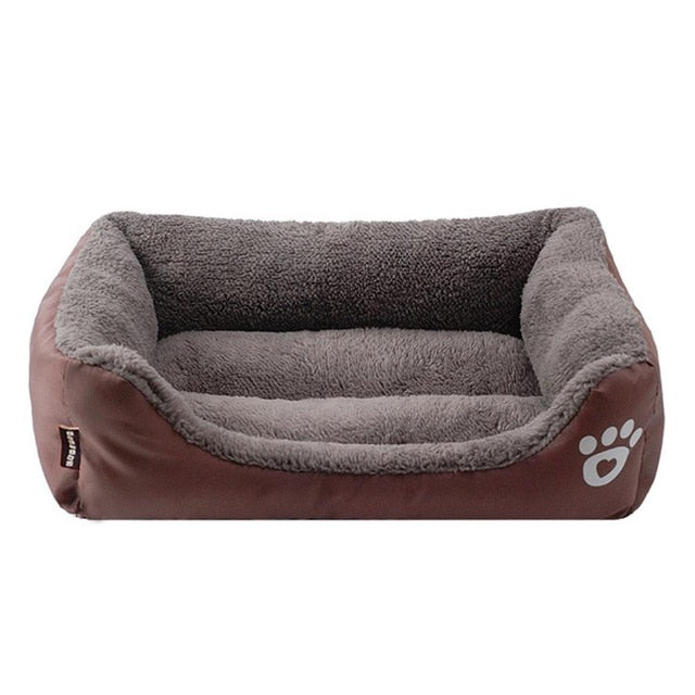 Cosy dog bed with memory-foam mattress-Sleeping-Alfy & Co-Brown-S-Alfy & Co
