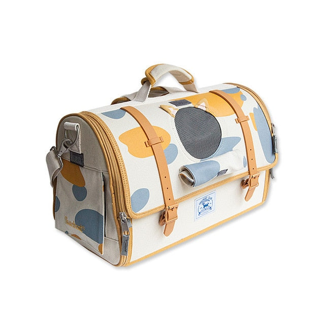 Modieuze hoge kwaliteit hond of kat carrier-Outdoor-Alfy & Co-M-Alfy & Co