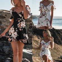 Load image into Gallery viewer, Summer Floral Dress 2019 - Elarah