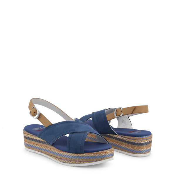 U.S. Polo Assn. Blue Wedges JENNA4081S9_S1