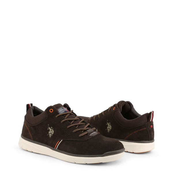 U.S. Polo Assn. Men's Lace Up Shoes Brown YGOR4125W9_S1