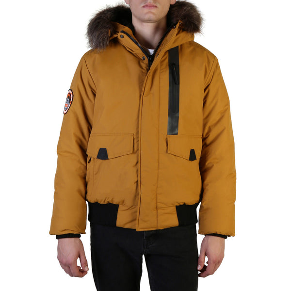Superdry Men's Everest Bomberjack Yellow M5000039A
