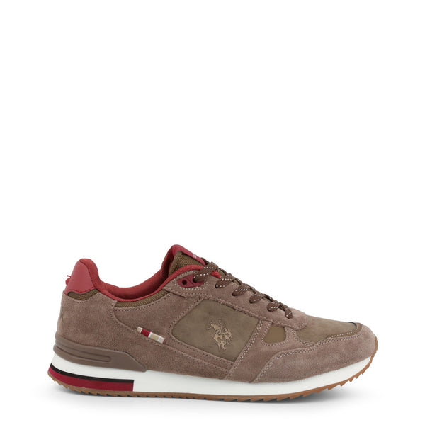 U.S. Polo Assn. Men's Trainers Brown FERRY4083W8_SY2