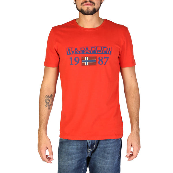 Napapijri T Shirt Red N0YI8F