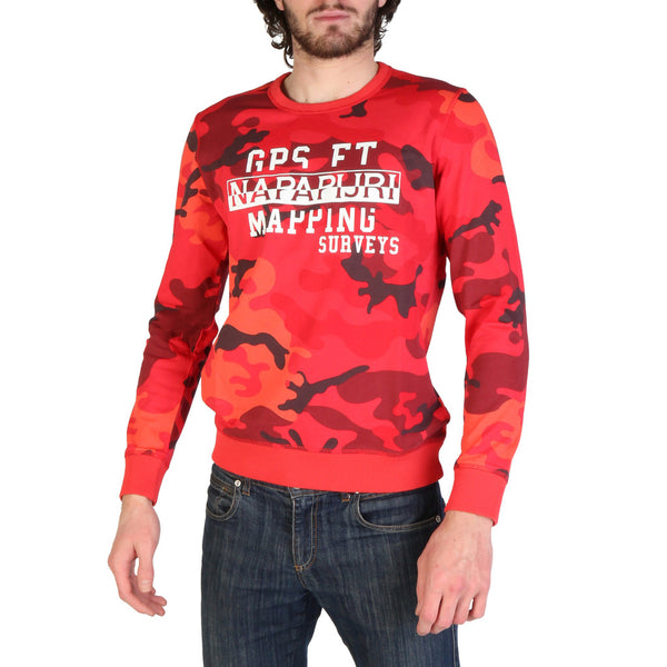 Napapijri Mens Jumper Red BALKA_N0YIL3