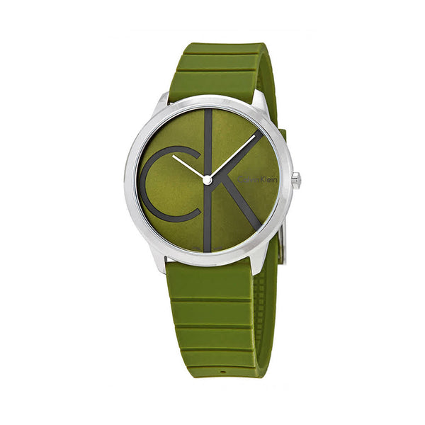 Calvin Klein Unisex Watch Green K3M21B