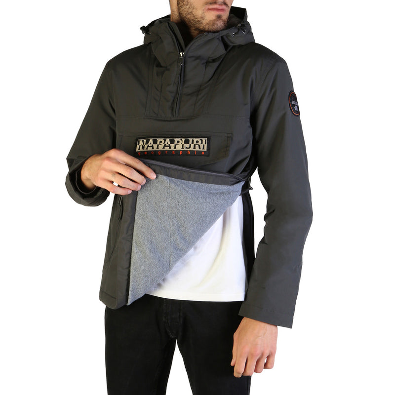 Napapijri RAINFOREST-N0YGNL Men's Jacket Grey