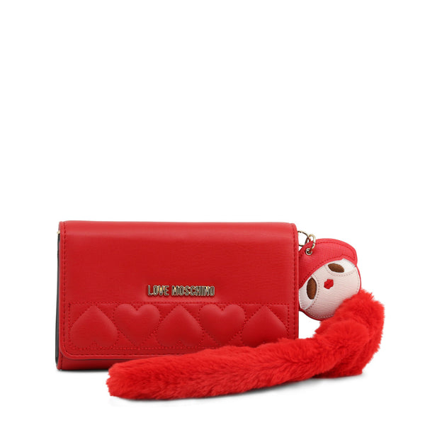 Love Moschino Clutch Bag Red JC5616PP18LO