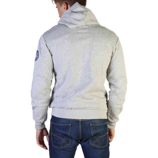 Geographical Norway Men's Hoodie Grey Gatsby100_man