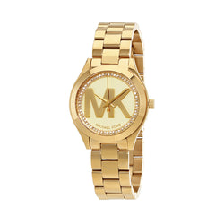 Michael Kors Ladies Gold Watch MK3477