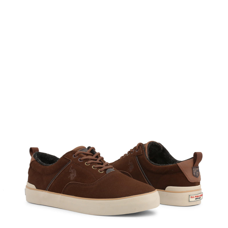 U.S. Polo Assn. Men's Trainers Brown ANSON7106W9_S1