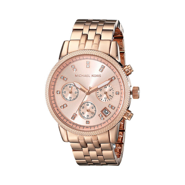 Michael Kors Ladies Gold Watch MK6077