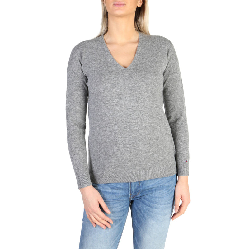 Tommy Hilfiger Women's Jumper Grey  WW0WW21210