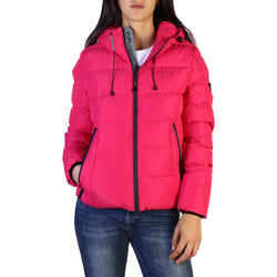 Superdry Women's Spirit Puffer Icon Jacket Rose Red W5000058A