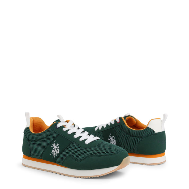 U.S. Polo Assn. Men's Trainers Green NOBIL4250S0_MH1