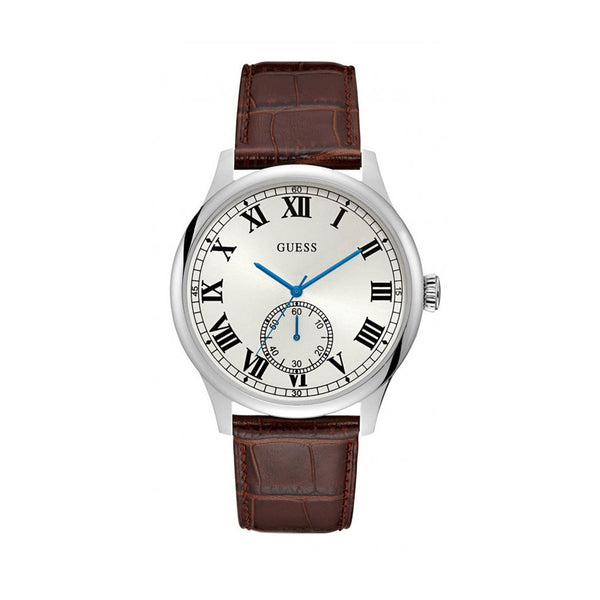 Guess Men's Watch W1075 Brown