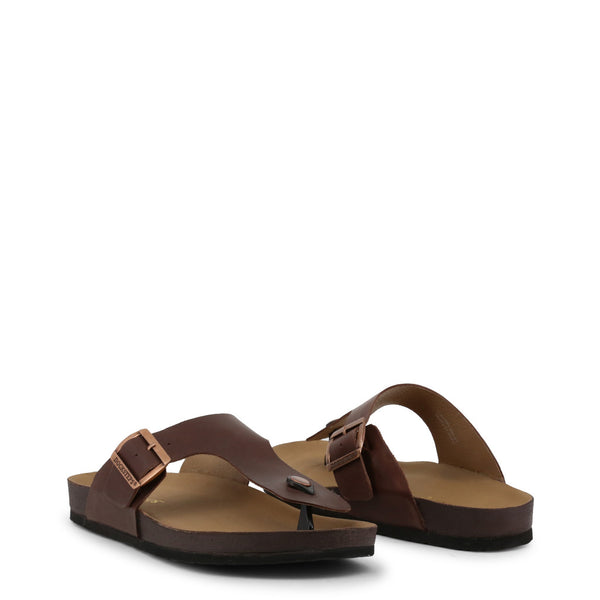 Docksteps Mens Flip Flop Brown VEGA-2284