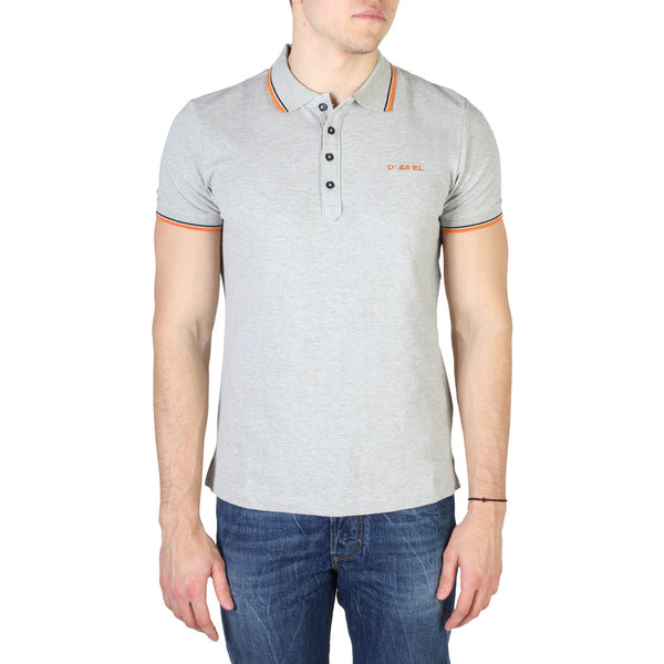 Diesel Men's Polo Grey T-RANDY_00SI29