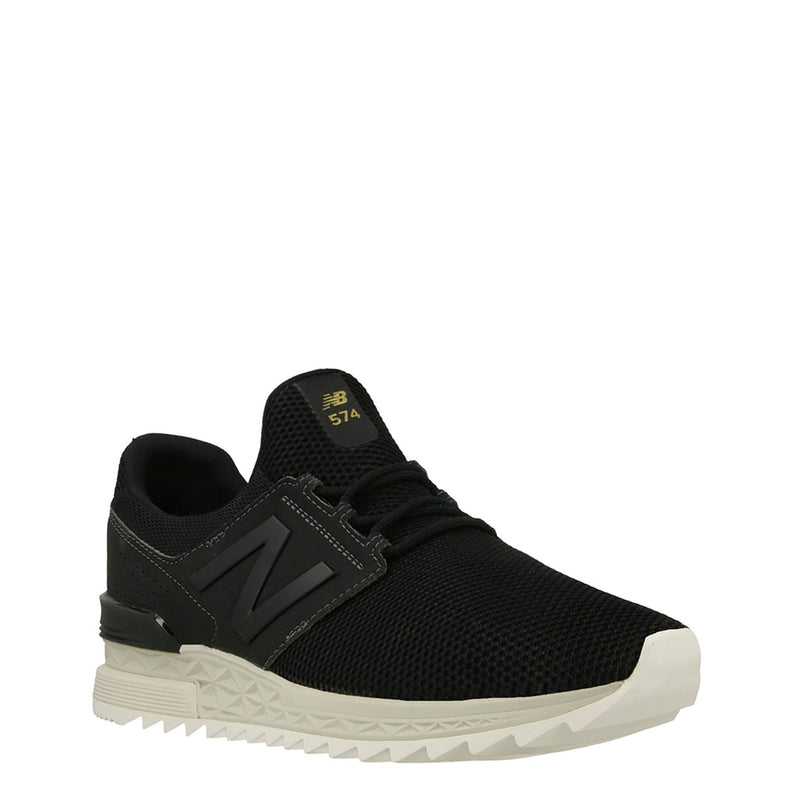 New Balance Mens Trainers Black MS574D