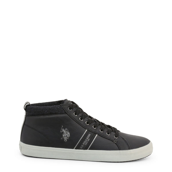 U.S. Polo Assn. Men's Trainers Black WOUCK7147W9_Y1