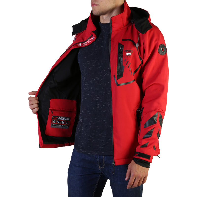 Geographical Norway Men's Jacket Red Tranco_man