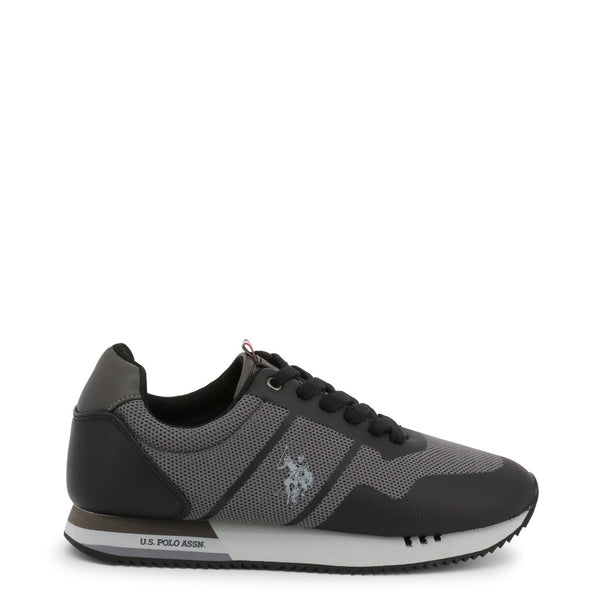 U.S. Polo Assn. Men's Trainers Black CORAD4247W9_TS1