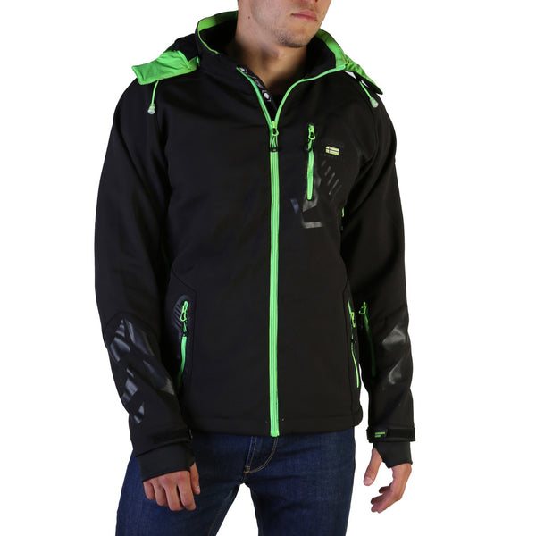 Geographical Norway Men's Jacket Black Tranco_man