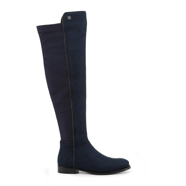 Laura Biagiotti Boots Blue 5864-19_MICRO-LYCRA
