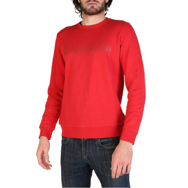 Napapijri Mens Jumper Red BEVORA_N0YIJ8