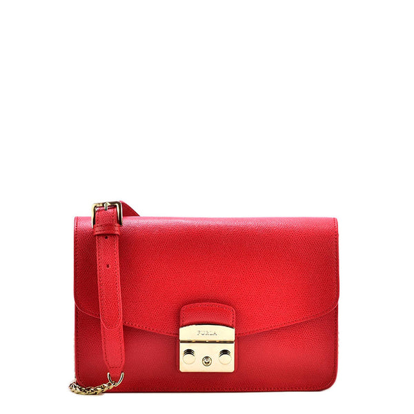 Furla Red Crossbody Bag 972393
